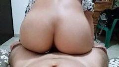Vídeo de sexo com irmã mais nova cavalgando a bucetinha na minha piroca