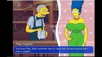 Porno gratis Marge safadinha traindo Homer com vários machos