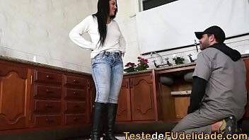 Porno brasil safada dando pro encanador