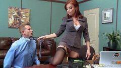 Ruivona faz sexo anal com um alemão bem dotado