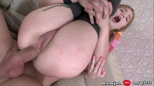 Anal sexo quente com loira novinha gostosa